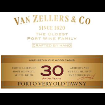 Label shot for  Van Zeller 30 Year Port