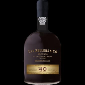 Bottle shot for  Van Zeller 40 Year Port