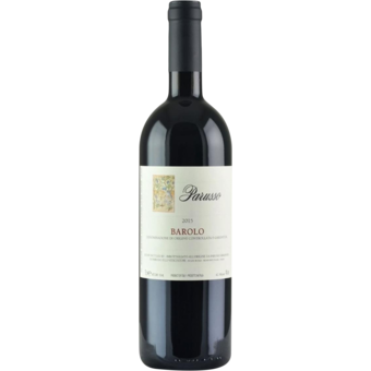 Bottle shot for 2015 Parusso Barolo
