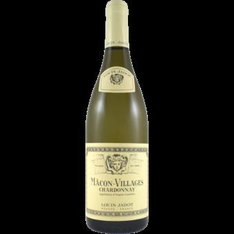 Bottle shot for 2020 Louis Jadot Macon Villages