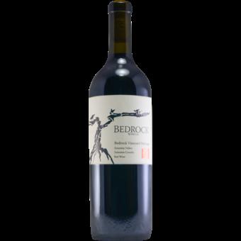 Bottle shot for 2019 Bedrock Heritage Red Bedrock Vineyard