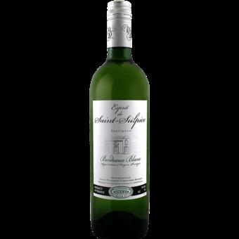 Bottle shot for 2020 Chateau Saint Sulpice Blanc