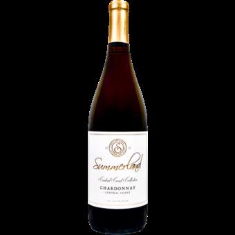 Bottle shot for 2017 Summerland Central Coast Chardonnay