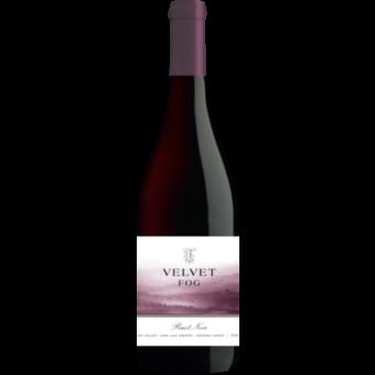 Bottle shot for 2017 Velvet Fog Sonoma Pinot Noir