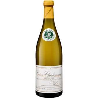 Bottle shot for 2018 Louis Latour Corton Charlemagne Grand Cru