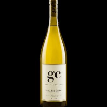 Bottle shot for 2017 Grochau Cellars Chardonnay