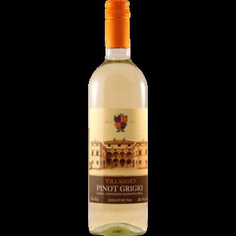 Bottle shot for 2020 Villaggio Pinot Grigio