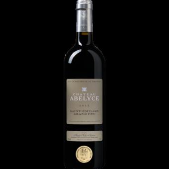 Bottle shot for 2015 Chateau Abelyce Saint Emilion Grand Cru