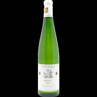 Bottle shot for 2018 Domaine Andre Kientzler Riesling