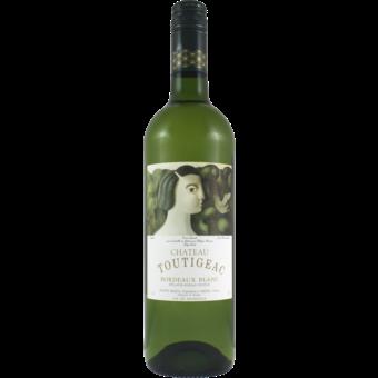 Bottle shot for 2019 Chateau Toutigeac Bordeaux Blanc