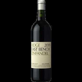 Bottle shot for 2019 Ridge Estate Zinfandel East Bench
