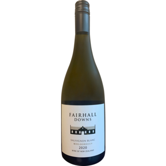Bottle shot for 2020 Fairhall Downs Single Vineyard Sauvignon Blanc