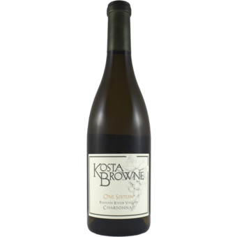 Bottle shot for 2019 Kosta Browne Chardonnay Russian River Valley 'one Sixteen'