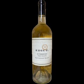 Bottle shot for 2019 Edict Rutherford Sauvignon Blanc