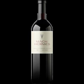 Bottle shot for 2016 Mach Hermes Lot Cs337 Cabernet Sauvignon