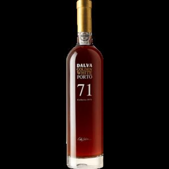 Bottle shot for 1971 Dalva 1971 Golden White Port 500ml
