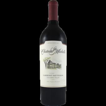 Bottle shot for 2018 Chateau St Michelle Cabernet Sauvignon