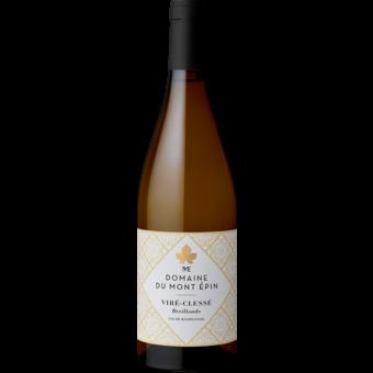 Bottle shot for 2018 Domaine Du Mont Epin Breillonde Vire Clesse
