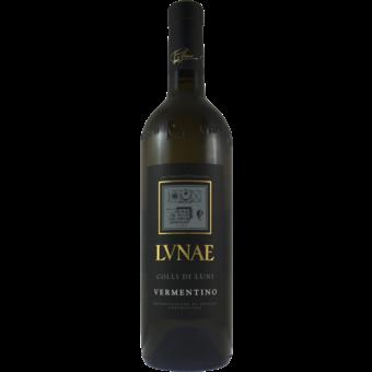 Bottle shot for 2020 Lunae   Vermentino Black Label