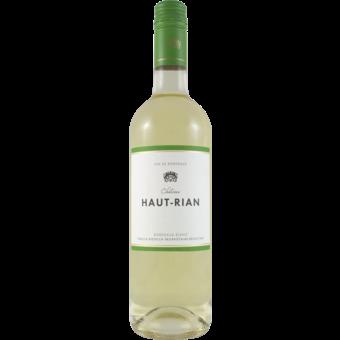 Bottle shot for 2020 Chateau Haut Rian Bordeaux Blanc Sec