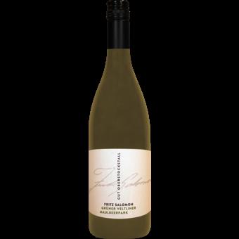 Bottle shot for 2015 Fritz Salomon Gut Oberstockstall Gruner Veltliner Maulbeerpark