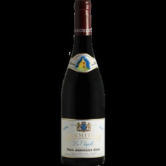 Bottle shot for 2018 Paul Jaboulet Hermitage La Chapelle