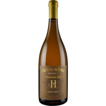 Bottle shot for 2020 Huet Vouvray Clos Du Bourg Moelleux 1er Trie