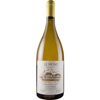 Bottle shot for 2020 Huet Vouvray Moelleux Le Mont