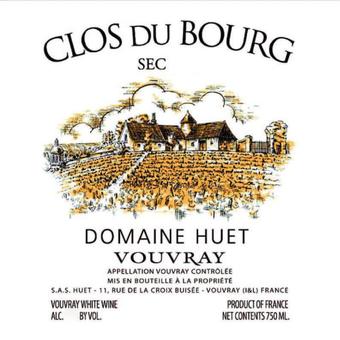 Label shot for 2019 Huet Clos Du Bourg Sec Vouvray
