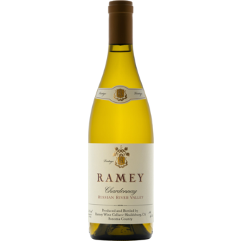 Bottle shot for 2018 Ramey Russian River Chardonnay