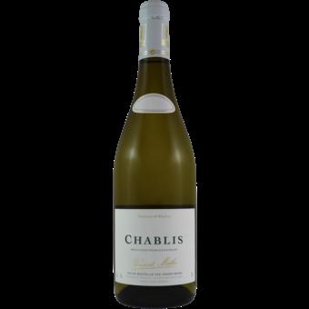 Bottle shot for 2018 Vincent Mothe Chablis