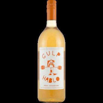 Bottle shot for 2020 Gulp / Hablo Orange Verdejo   Sauvignon Blanc