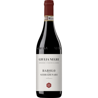 Bottle shot for 2016 Giulia Negri 'serradenari' Barolo