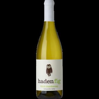 Bottle shot for 2018 Haden Fig Chardonnay Willamette Valley
