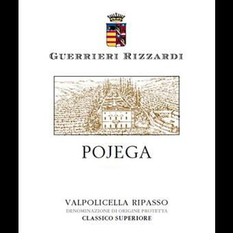 Label shot for 2017 Guerrieri Rizzardi Pojega Valpolicella Ripasso