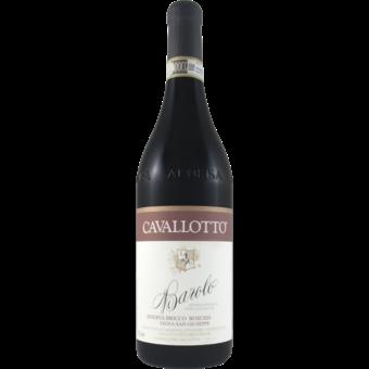 Bottle shot for 2012 Cavallotto Barolo Bricco Boschis Vigna San Giuseppe Riserva