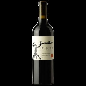 Bottle shot for 2019 Bedrock Heritage Evangelho Red