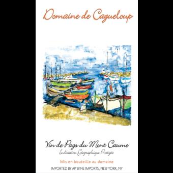 Label shot for 2020 Vdp Mont Caume Provence Rose