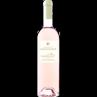 Bottle shot for 2020 Cagueloup Cotes De Provence Rose
