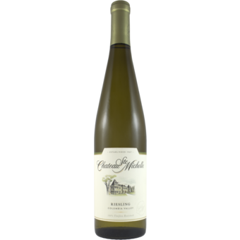 Bottle shot for 2020 Chateau St Michelle Riesling