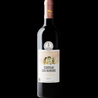Bottle shot for 2016 Chateau Les Aubiers Blaye Cotes De Bordeaux