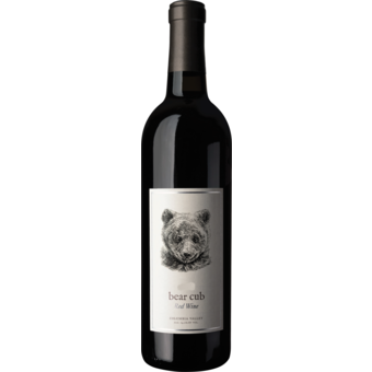 Bottle shot for 2017 Pursued By Bear 'bear Cub' Red Blend