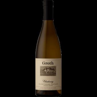 Bottle shot for 2018 Groth Hillview Vineyard Chardonnay