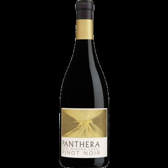 Bottle shot for 2019 Panthera Sonoma Coast Pinot Noir
