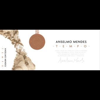 """Label shot for 2016 Anselmo Mendes Tempo """"Orange Wine"""""""