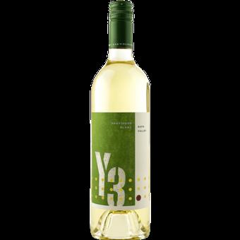Bottle shot for 2019 Jax Vineyards 'y3' Napa Sauvignon Blanc