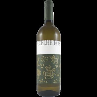 Bottle shot for 2019 Coelheiros Branco (Arinto/Antao Vaz)