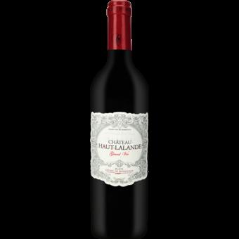 Bottle shot for 2018 Chateau Haut Lalande Grand Vin Rouge Cotes De Blaye