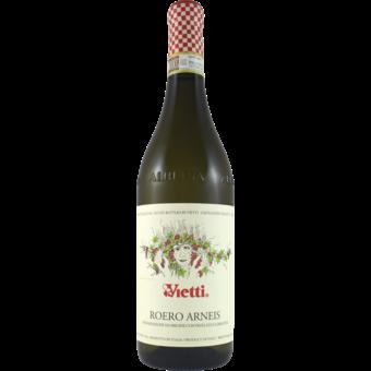 Bottle shot for 2020 Vietti Roero Arneis