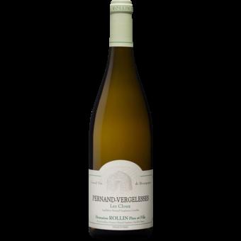 Bottle shot for 2018 Domaine Rollin Pernand Vergelesses Blanc 'les Cloux'